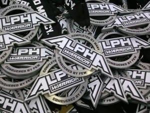 Alpha Warrior Medals