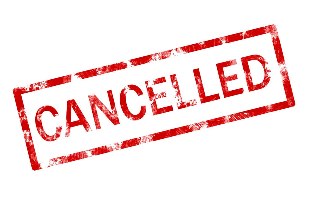 Race cancellations