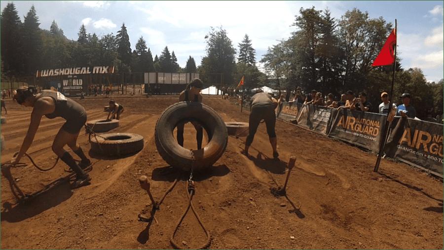 Spartan Tire Pull
