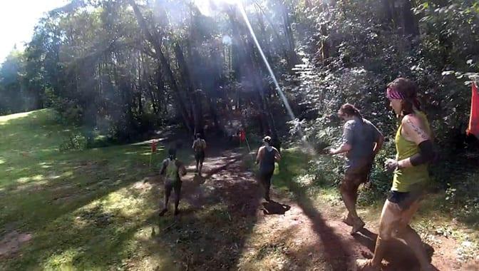 Warrior Dash Oregon runners