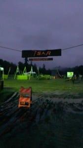 Basecamp at dawn.