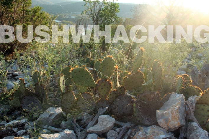 Bushwhacking in SW Texas