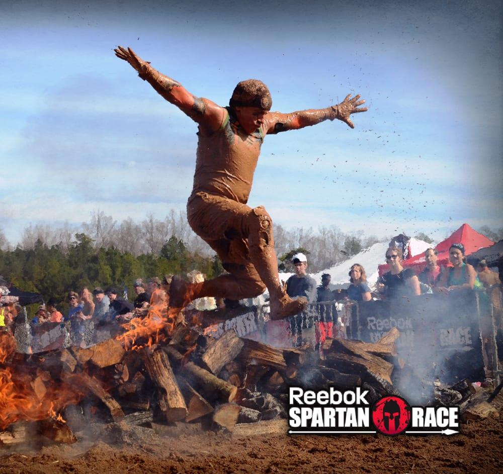 Tony Ferrante races in Reebok All Terrain Supers