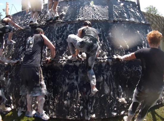 Rugged Maniac Soap Wall