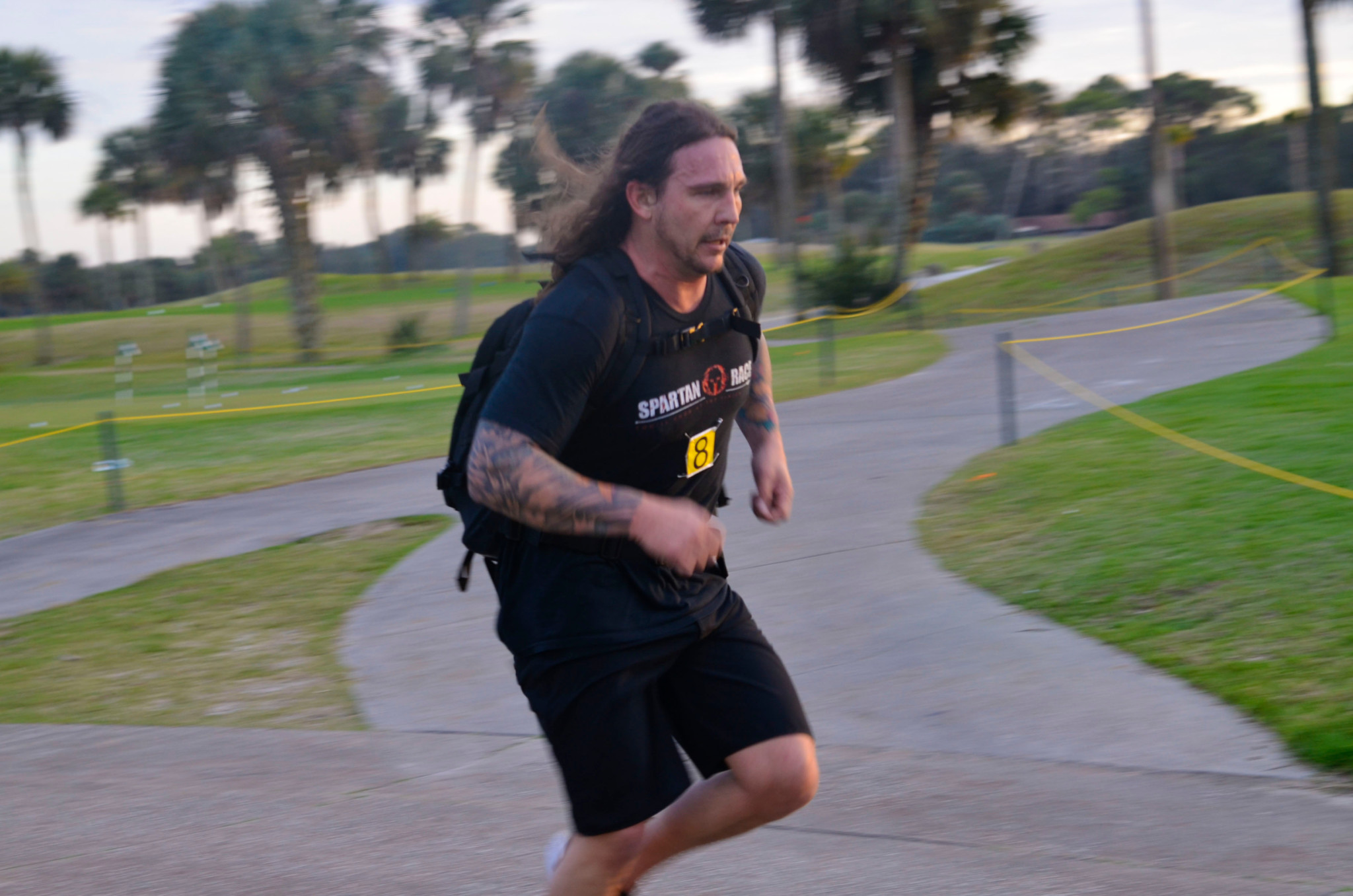 Christian Griffith at the inaugural GORUCK Kill That 5K
