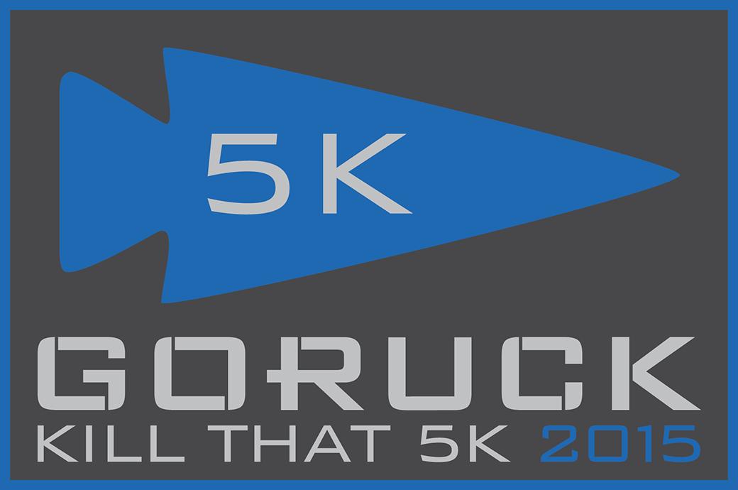 GORUCK Kill That 5K patch