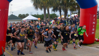 Kill That 5K elite division race start