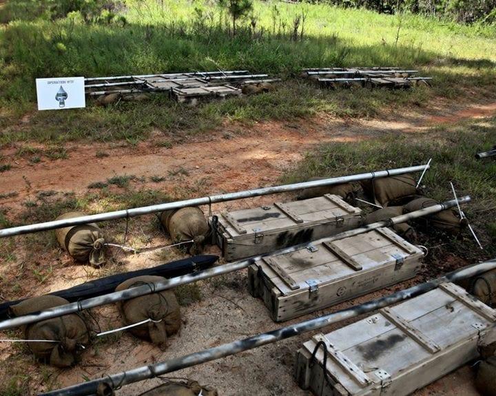 Green Beret Challenge Crates
