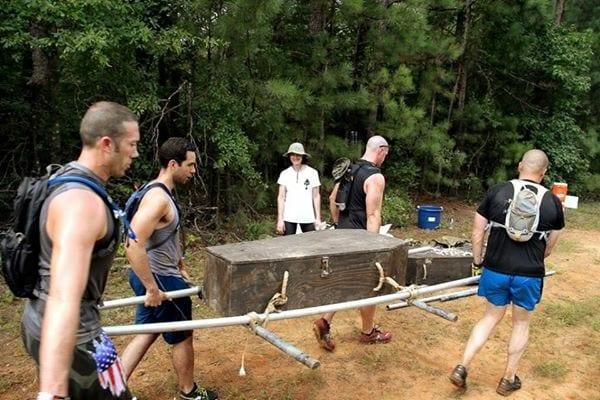 Green Beret Challenge Coffins