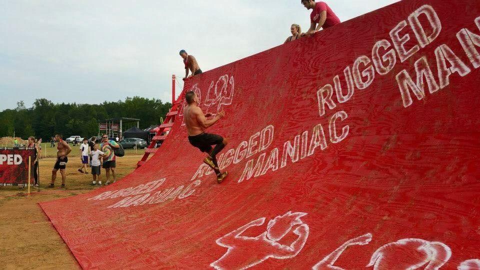 Rugged Maniac Warp wall