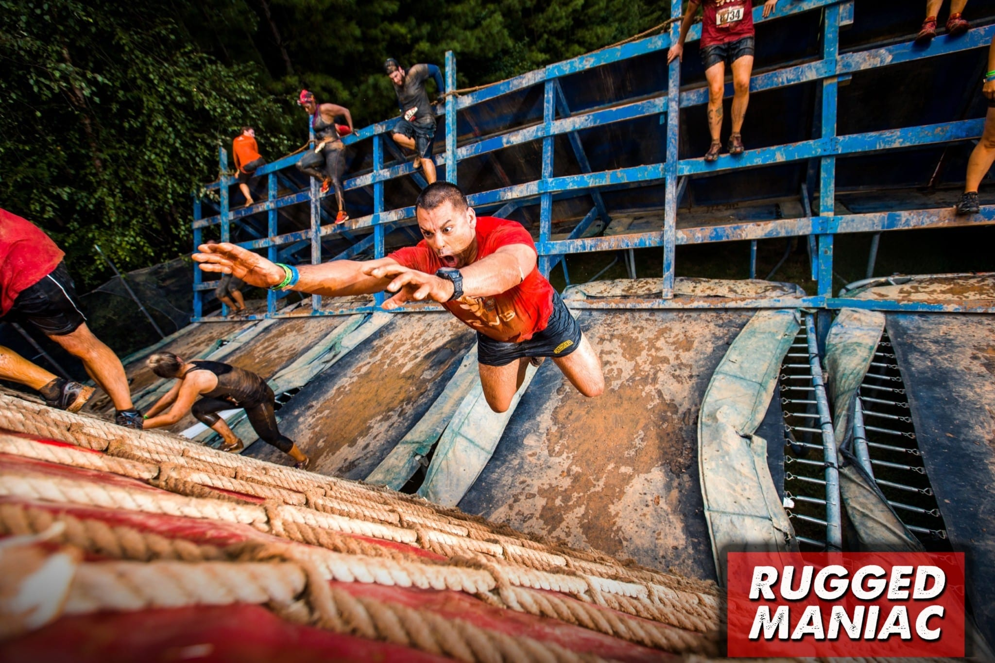 Rugged Maniac Obstacle Antigravity