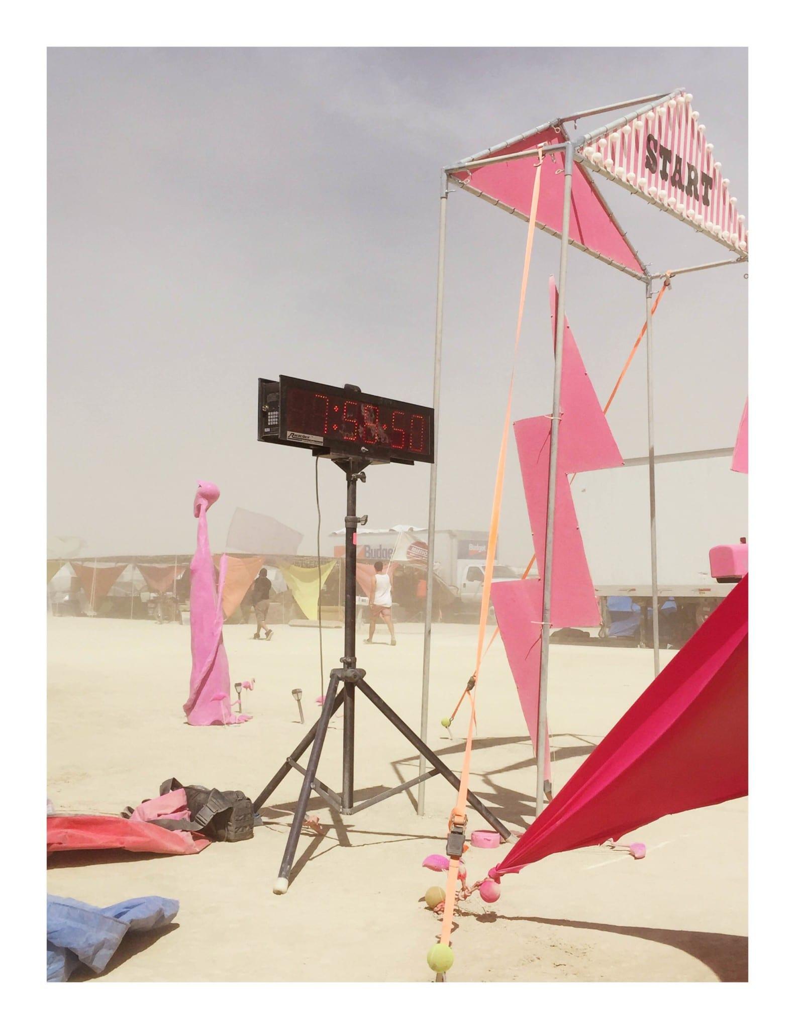 Burning Man Marathon - Timer