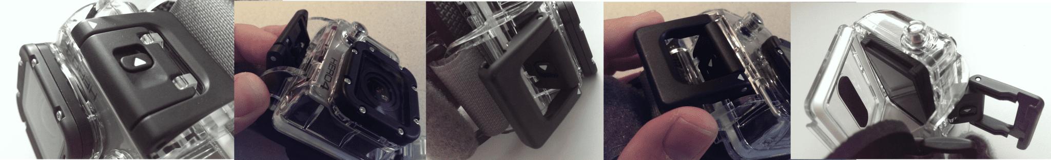 GoPro Wrist Housing Latch Opening