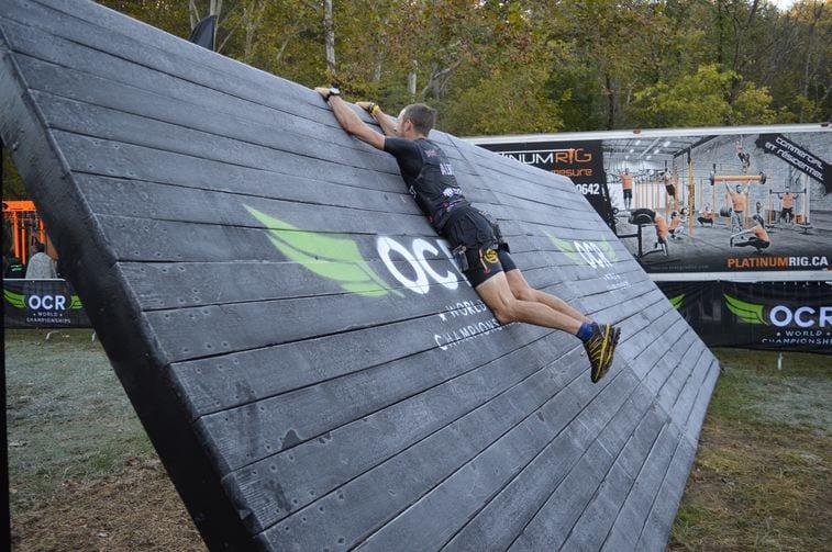 OCWRC ramp wall
