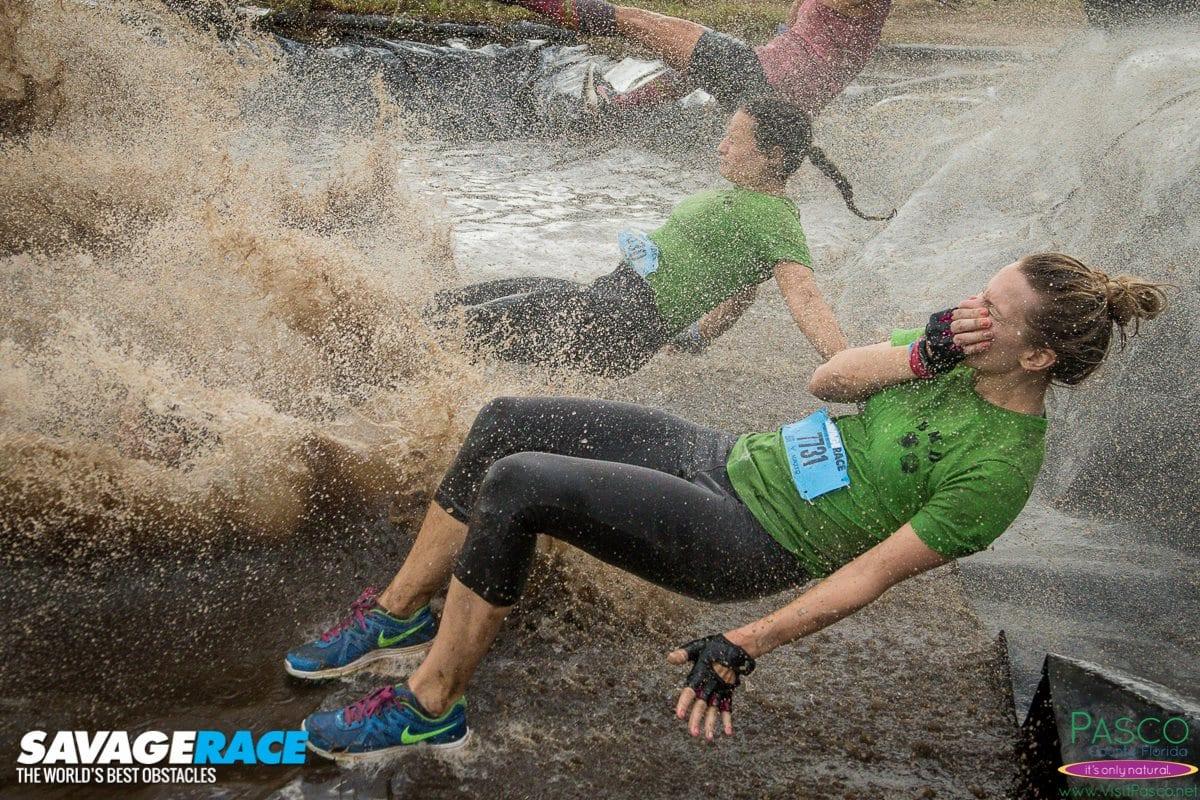 Savage Race - Splash Down