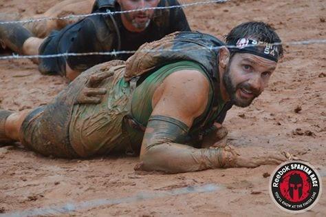 Spartan Super barb wire crawl