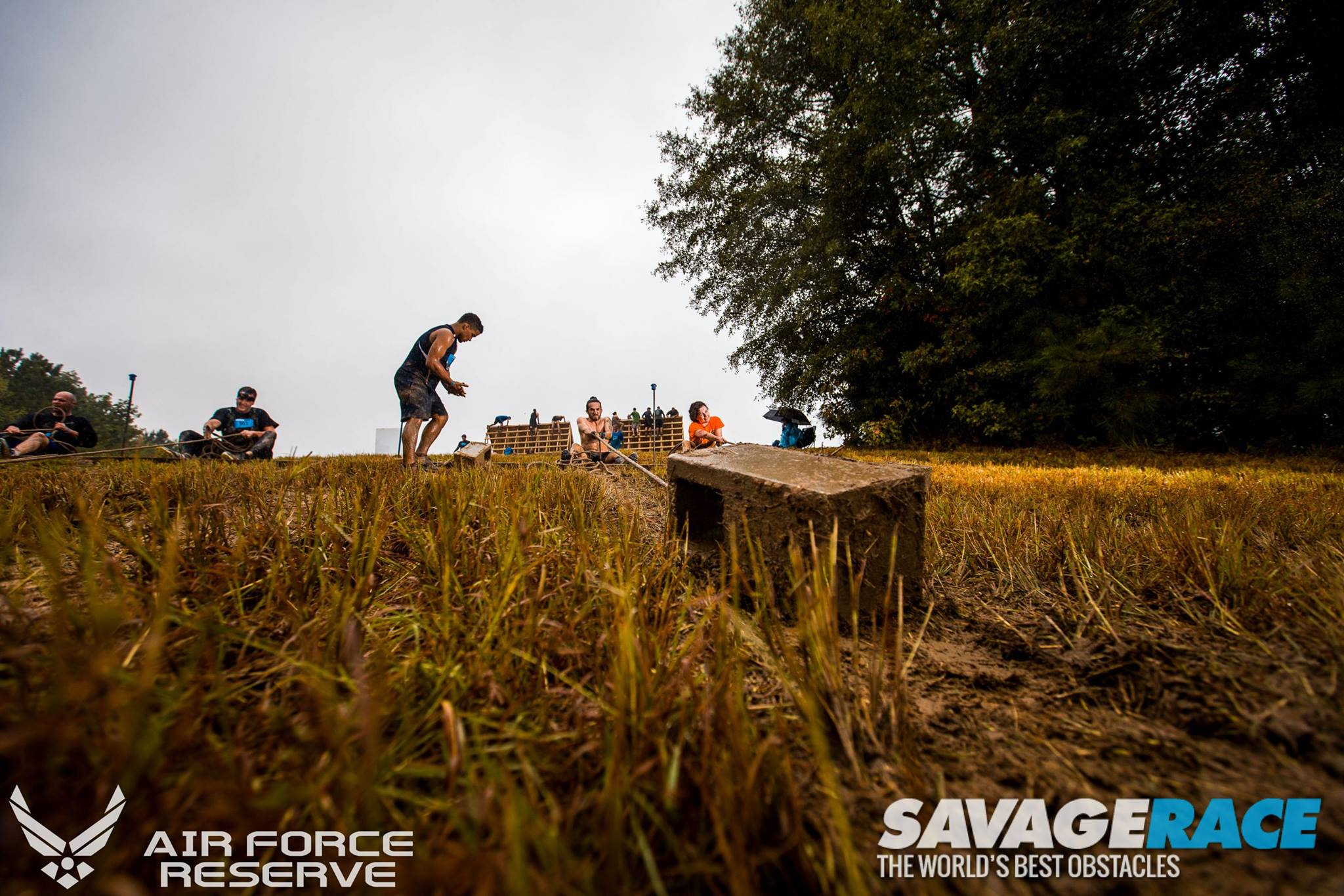 Savage Race block party