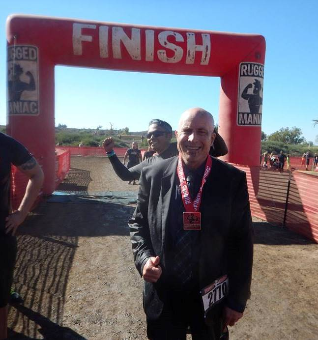 Muddy Suitman at Rugged Maniac 2015