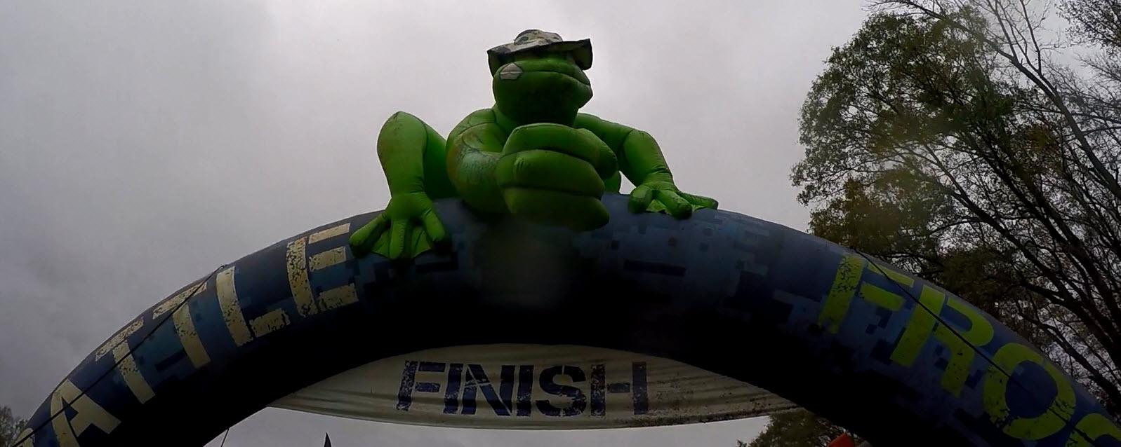 Battle Frog Finish Line