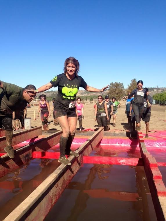 Rugged Maniac Balance Beam