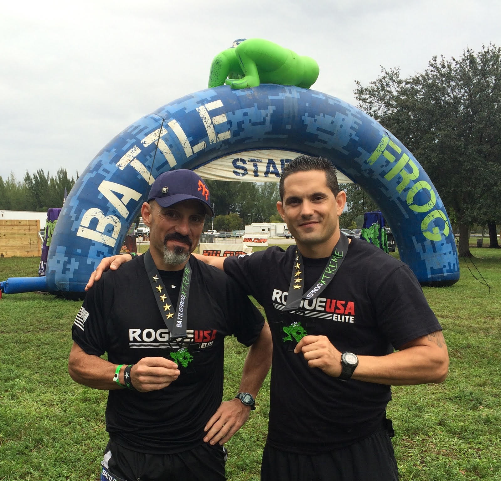 BattleFrog Miami Finish - ROGUE USA