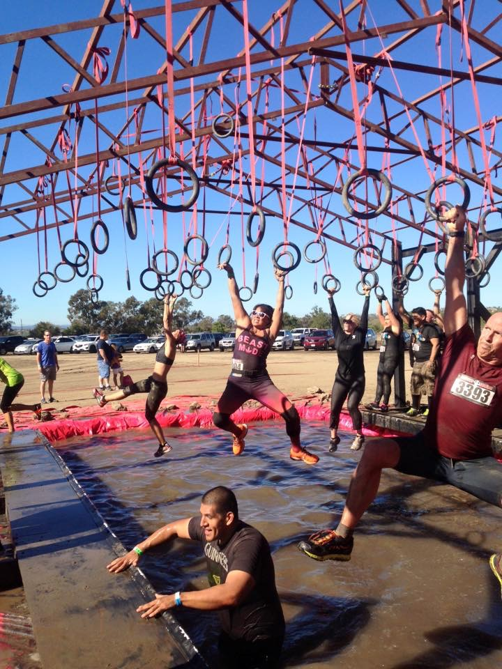 Rugged Maniac Rings