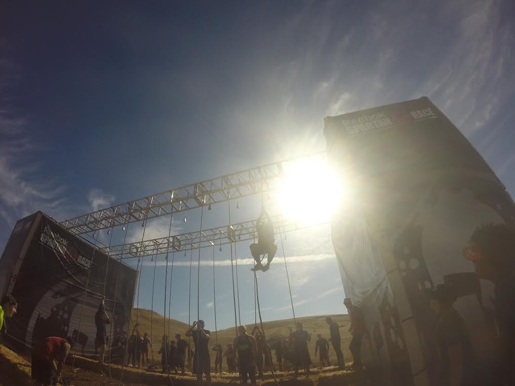 Spartan Sacramento Rope Climb