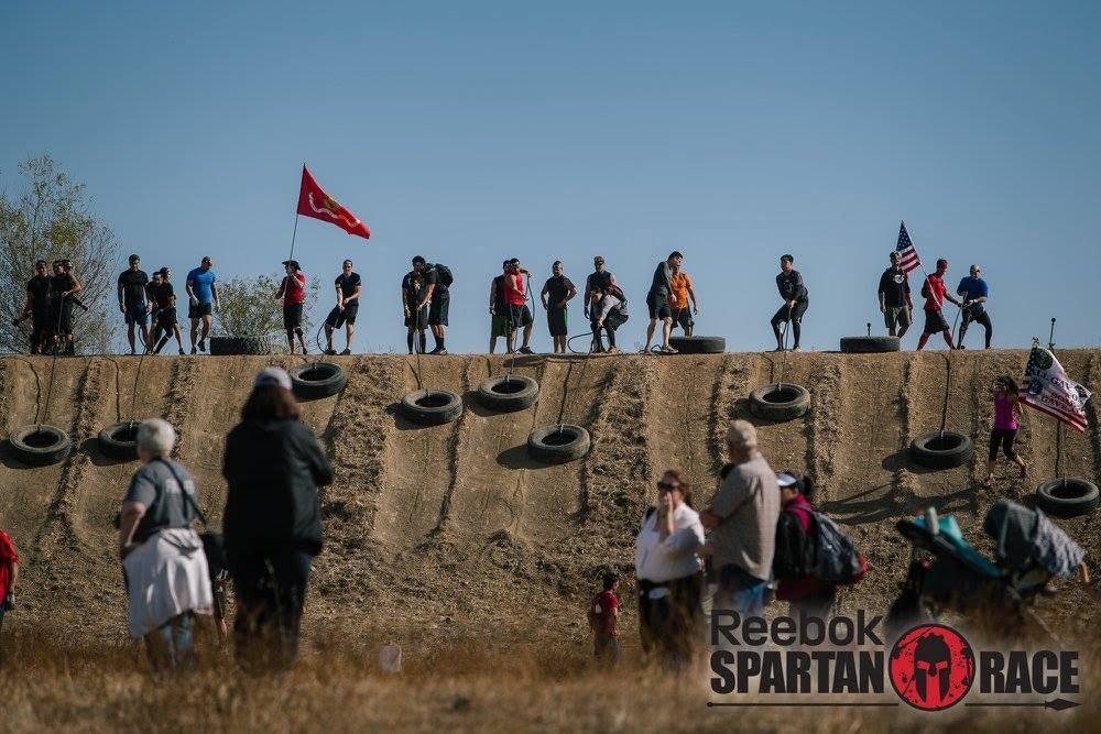Spartan Sacramento Tire Drag