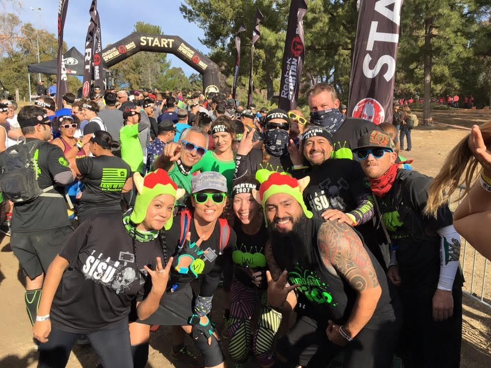Spartan Race LA Sprint - Weeples Mugging