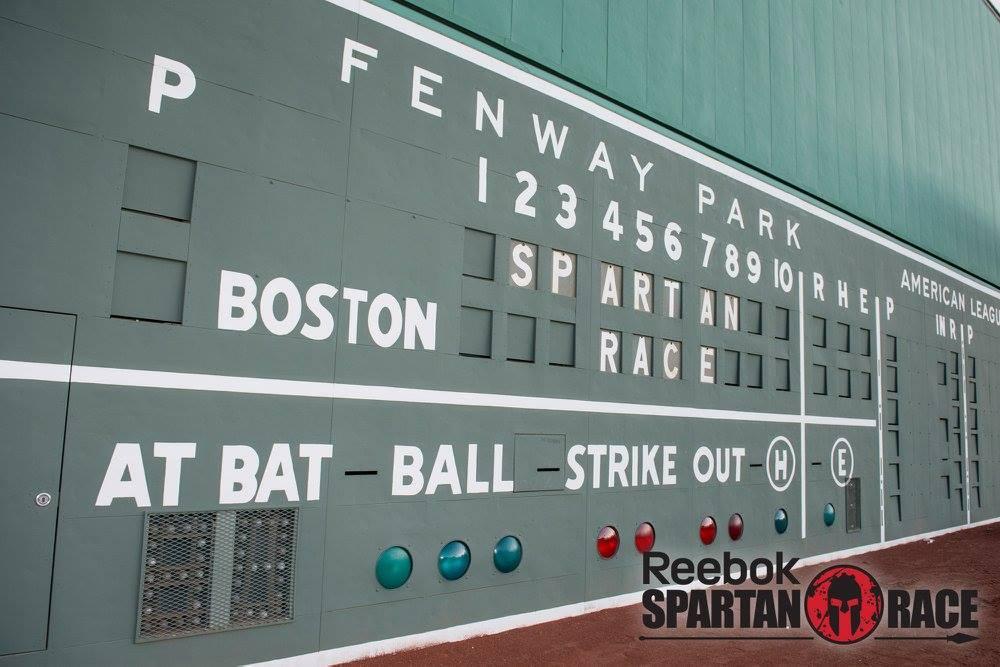 Spartan Race - Fenway Scoreboard