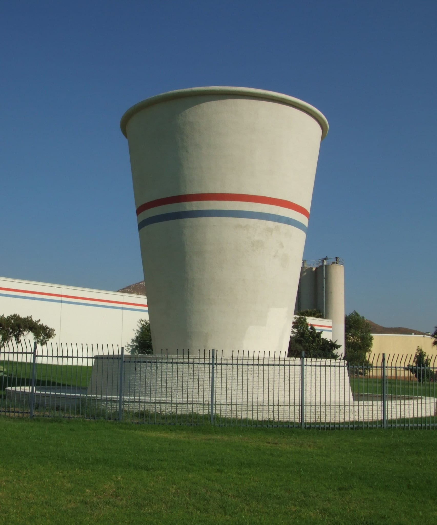 The world's biggest Dixie Cup