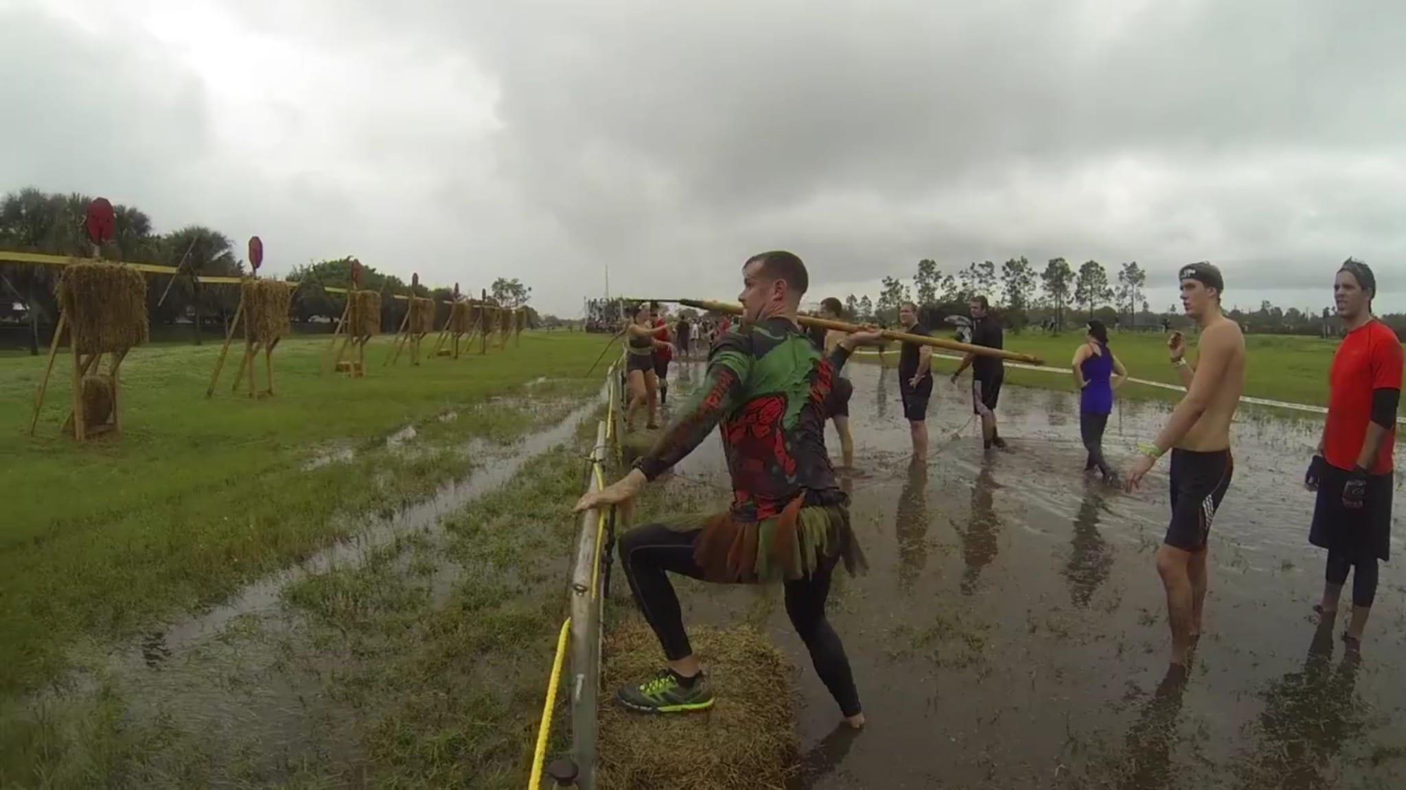 Spartan Race Miami 12052015 - Spear Throw - Courtesy of Arnel Banawa