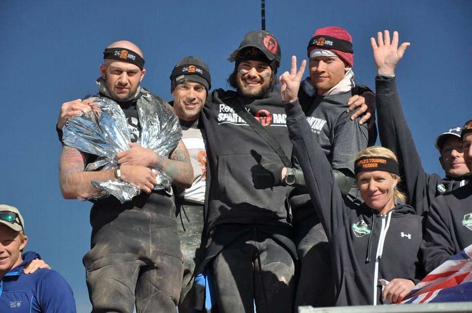 Spartan Wolfpack on the WTM Podium