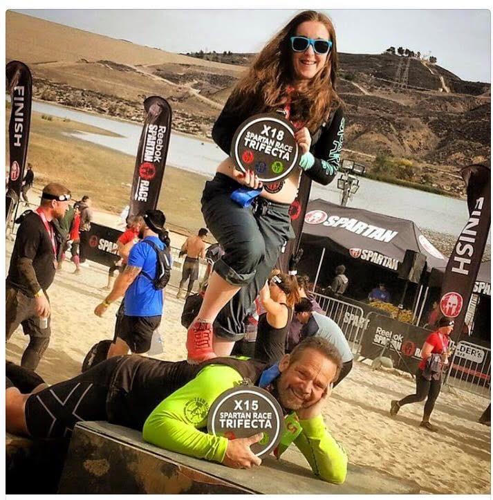 Spartan Race LA Sprint - Kirsty & Joe