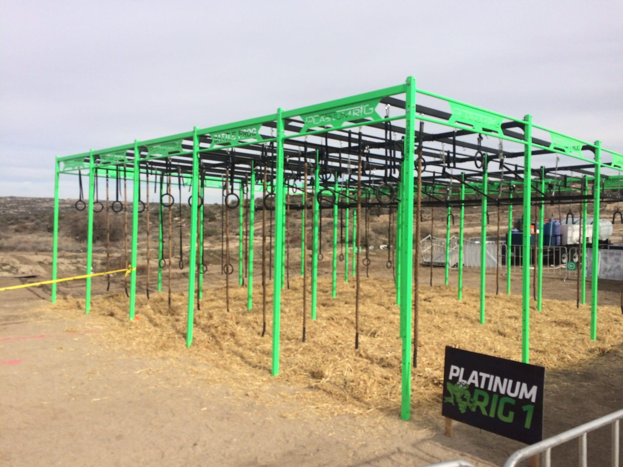 BattleFrog Platinum rig San Diego Jan 2016