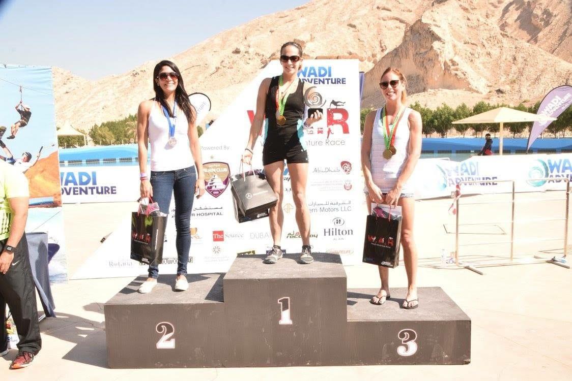 Wadi Womens 10k Elite Podium
