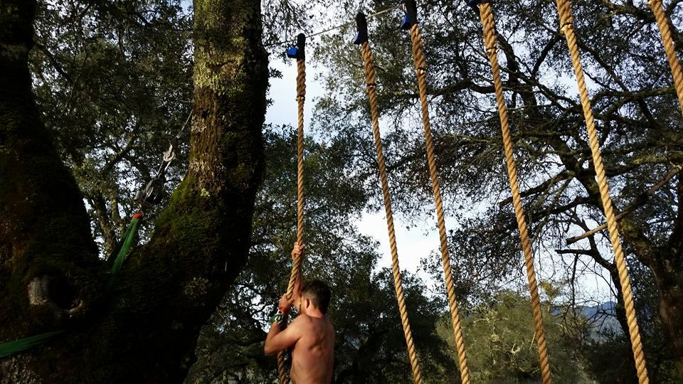 BattleFrog Rope Climb -Photo Credit Joe Forney