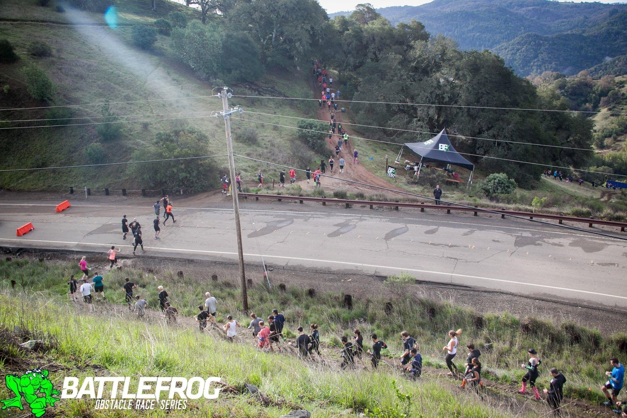 BattleFrog San Fran - Terrain