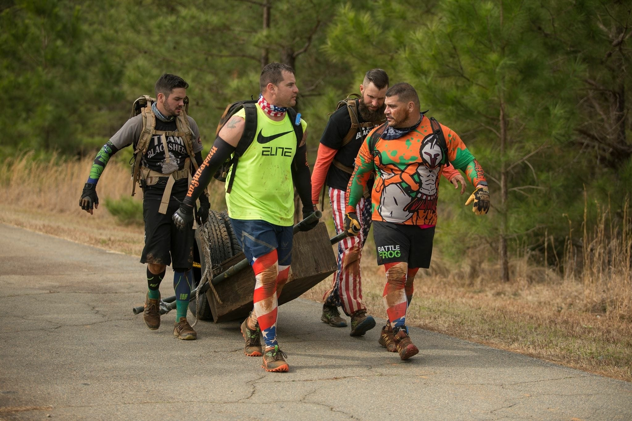 Green Beret Challenge coffin carry