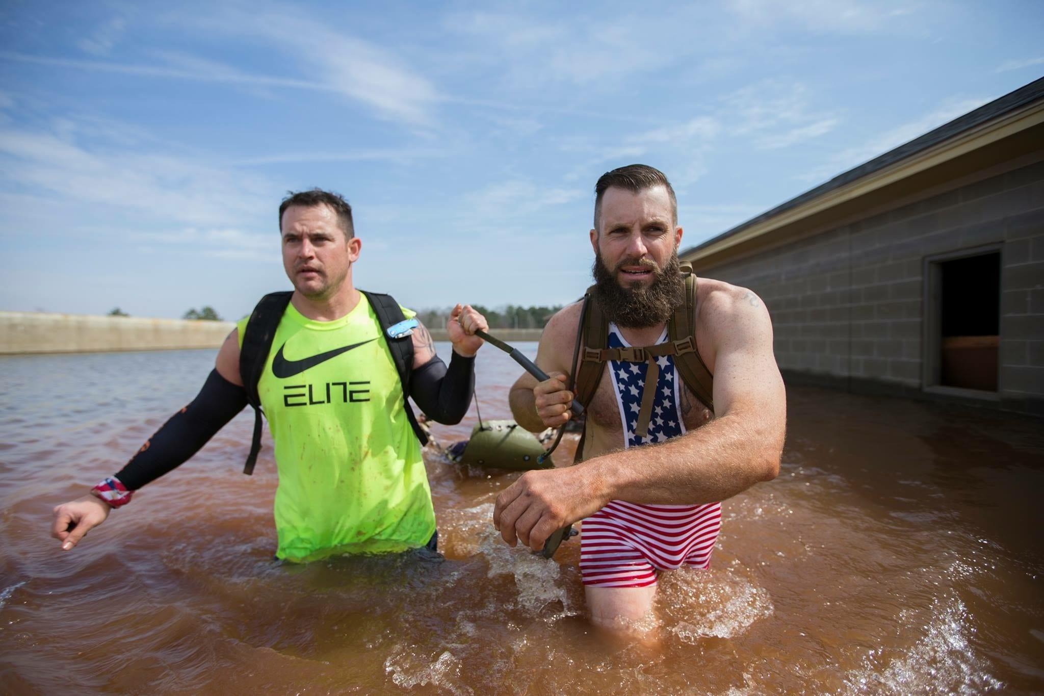 Green Beret Challenge water challenge