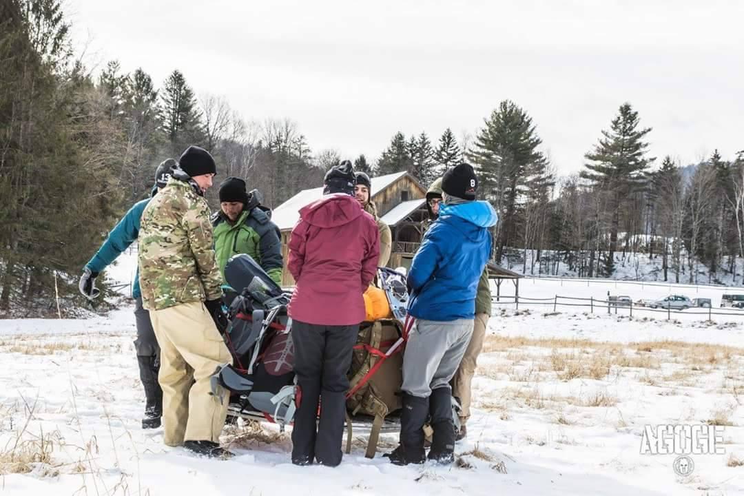 Spartan Race Agoge 001 Team Task 1 - Equipment Carry