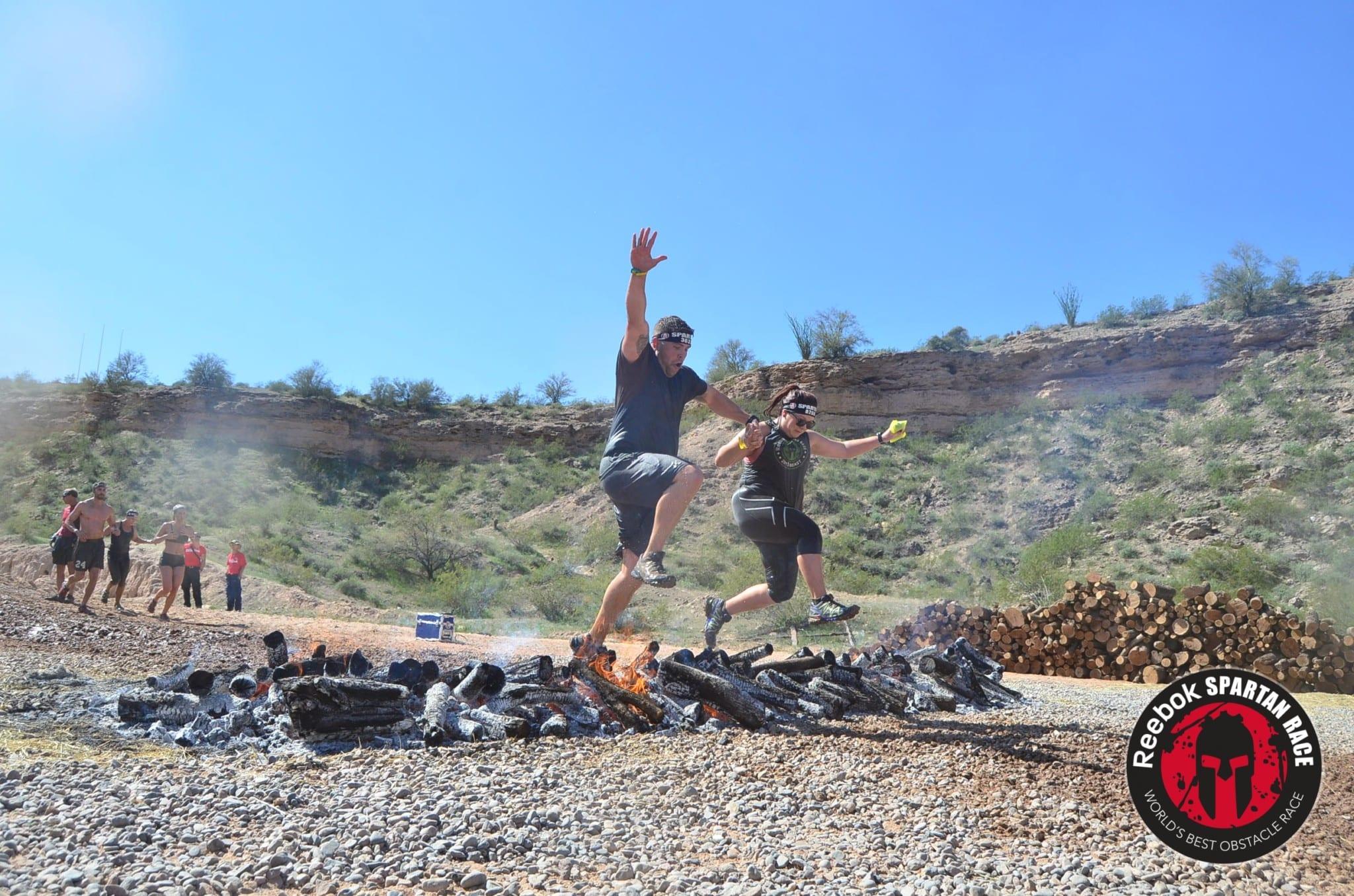 Arizona Spartan Fire jump