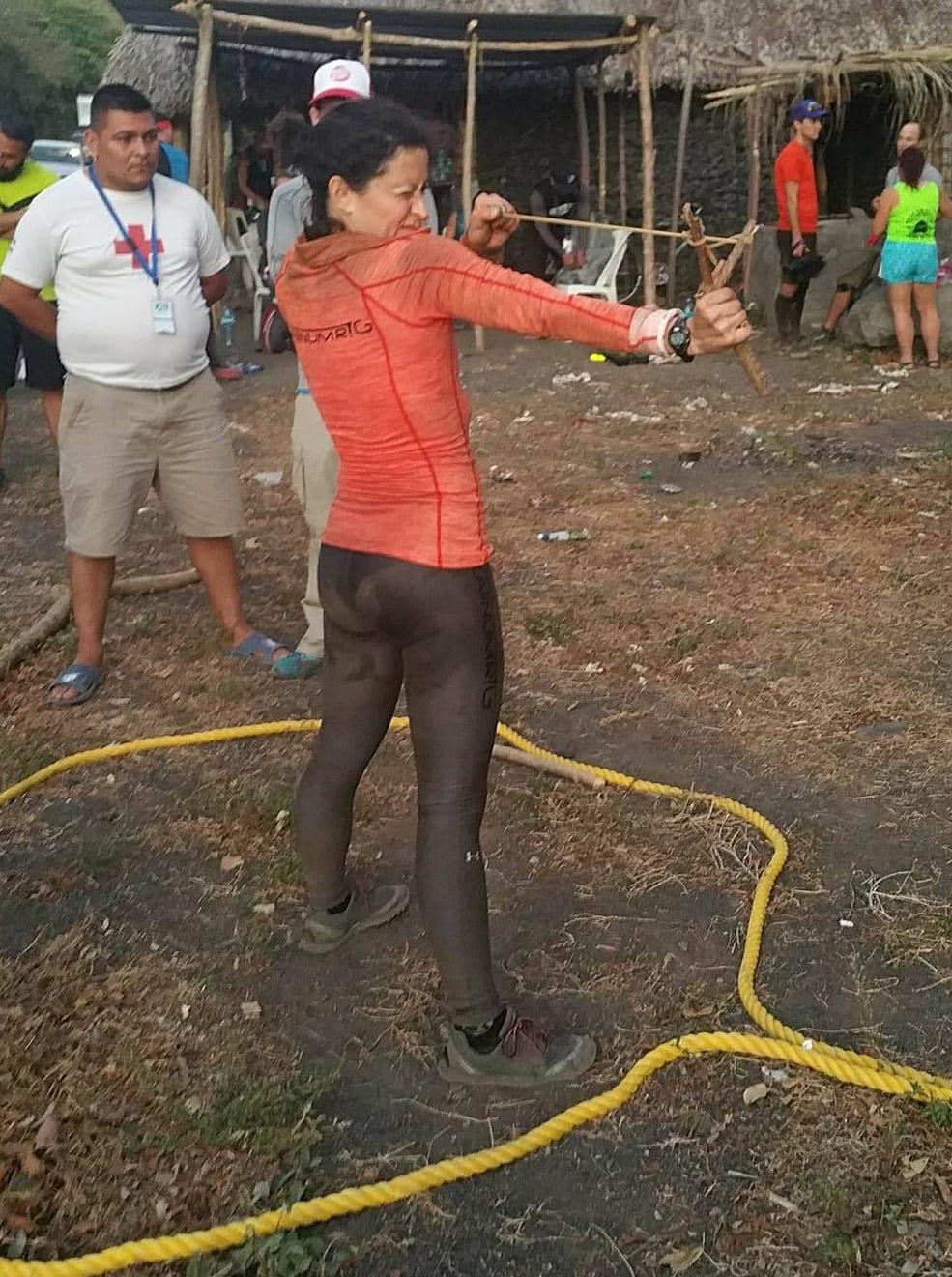 Fuego Y Agua Survival Run - Helene Dumais Slingshot