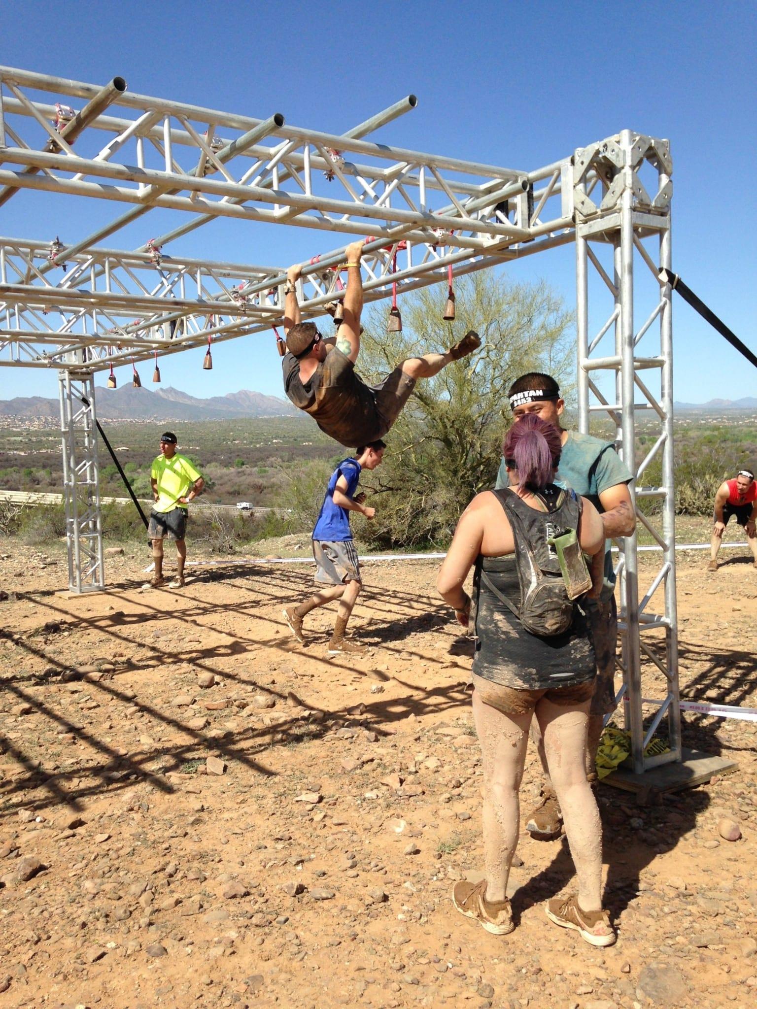 Arizona Spartan Monkey bars