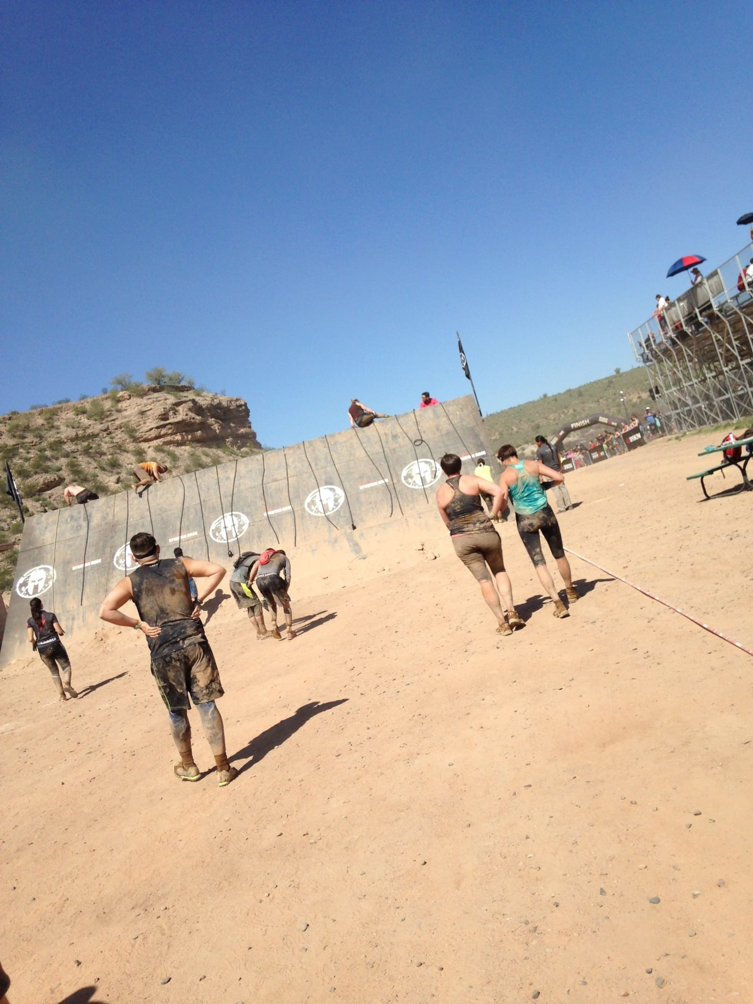Arizona Spartan Slip wall