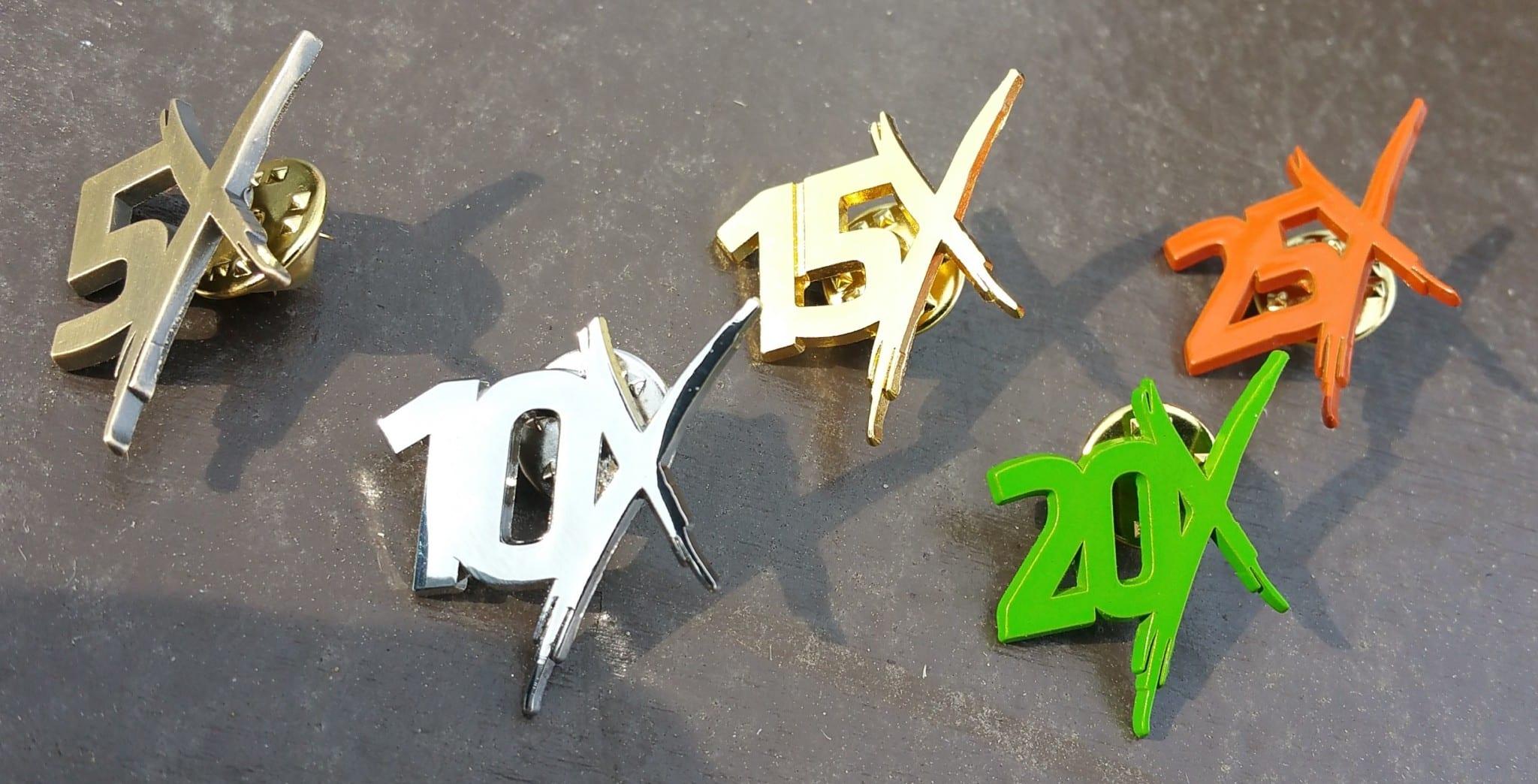 BattleFrog 24hr Xtreme - Lap Pins