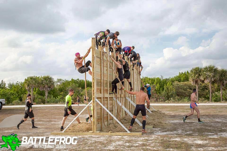 BattleFrog 12-ft Wall