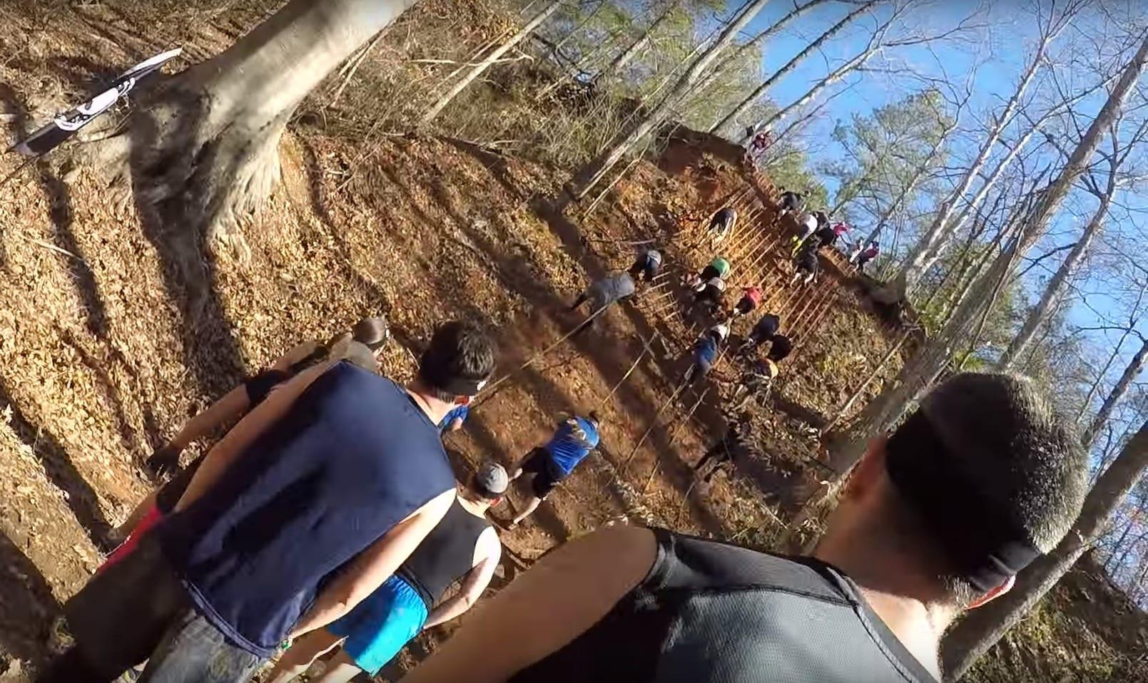 Spartan Sprint Cliff Hanger