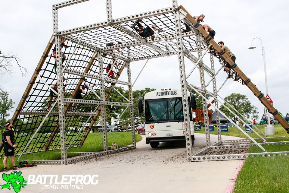 BattleFrog Dallas Cargo Climb