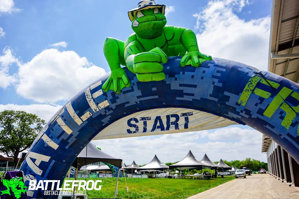 BattleFrog Dallas Start Line
